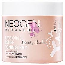 Parfumuri și produse cosmetice Pad-uri hidratante cu probiotice - Neogen Dermalogy Probiotics Relief Toning Pad