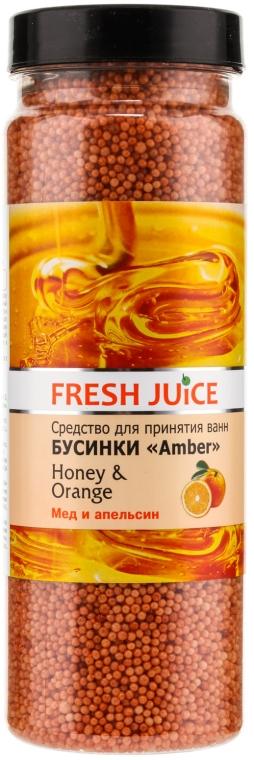 Bile pentru baie - Fresh Juice Bath Bijou Amber Honey and Orange — Imagine N1