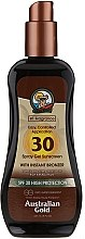 Parfumuri și produse cosmetice Gel-spray cu protecție solară - Australian Gold Protetor Solar Gel Spray Bronzeador SPF30