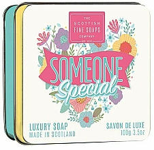 "Parfumuri și produse cosmetice Săpun ""Someone Special"" - Scottish Fine Soaps Someone Special Soap In A Tin"