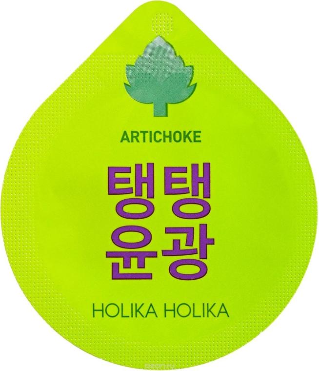Mască de noapte, cu efect antirid - Holika Holika Superfood Capsule Pack Artichoke
