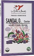 """Parfumuri și produse cosmetice Praf din plante """"Santal"""" - Le Erbe di Janas Sandalo"""