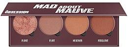Parfumuri și produse cosmetice Paletă fard de obraz - Makeup Obsession Mad About Mauve