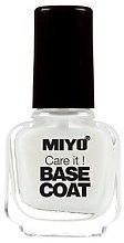 Parfumuri și produse cosmetice Bază pentru ojă - Miyo Care It Base Coat