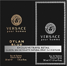 Parfumuri și produse cosmetice Versace Dylan Blue Pour Homme - Set (edt/30ml + edt/30ml)