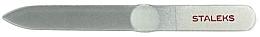 Parfumuri și produse cosmetice Pilă de cristal pentru unghii, FBC-12-140, argintie - Staleks