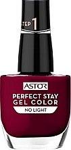 Parfumuri și produse cosmetice Gel-lac de unghii fără lampă UV / LED - Astor Perfect Stay Gel Color Nail Polish