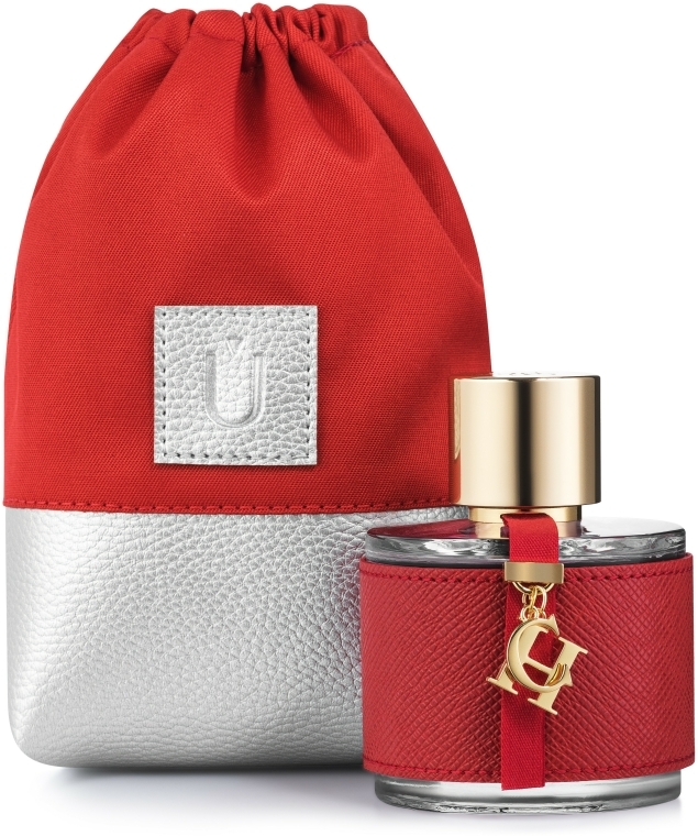 "Husă cadou pentru parfumuri, roșie ""Perfume Dress"" - MakeUp"
