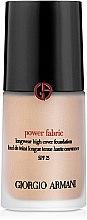 Parfumuri și produse cosmetice Primer pentru față - Giorgio Armani Power Fabric Foundation