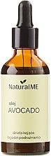 Parfumuri și produse cosmetice Ulei de avocado, presat la rece - NaturalME
