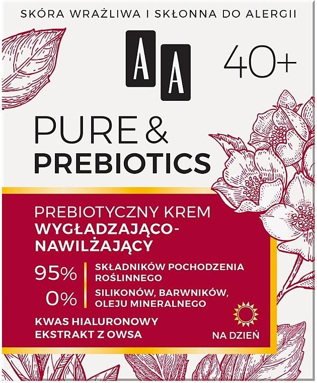 Cremă de zi pentru față 40+ - AA Pure & Prebiotics — Imagine N1