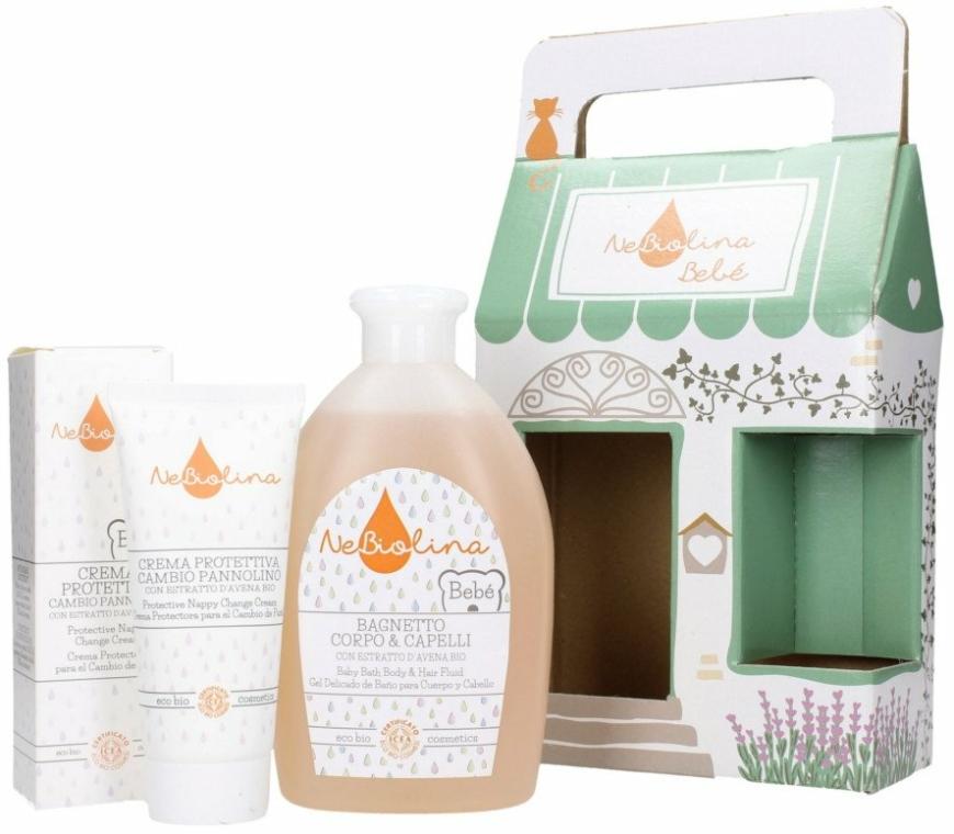 Set - NeBiolina Baby Gift Set II (body/hair/fluid/500ml+cr/100ml) — Imagine N3