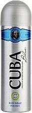 Parfumuri și produse cosmetice Cuba Blue - Deodorant-spray