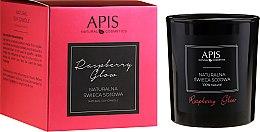 Parfumuri și produse cosmetice Lumânare aromată - APIS Professional Raspberry Glow Soy Candle