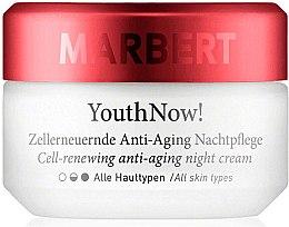 Parfumuri și produse cosmetice Cremă anti-îmbătrânire de noapte pentru față - Marbert YouthNow! Cell-Renewing Antiaging Night Care