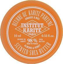 Parfumuri și produse cosmetice Unt de Shea pentru corp 98% - Institut Karite Almond Honey Scented Shea Butter