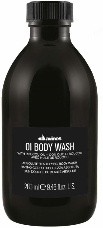 Gel de duș - Davines Oi Body Wash — Imagine N1