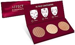 Parfumuri și produse cosmetice Paletă pentru conturarea feţei - Affect Cosmetics Contour Palette