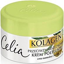 Parfumuri și produse cosmetice Cremă antirid pentru ten normal și uscat - Celia Collagen Cream
