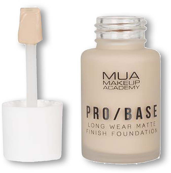 Fond de ten - MUA Pro Base Long Wear Matte Finish Foundation