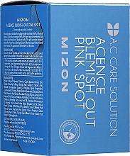 Parfumuri și produse cosmetice Tratament eficient peste noapte pentru acnee și inflamație - Mizon Acence Blemish Out Pink Spot