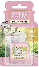Parfumuri și produse cosmetice Aromatizator auto - Yankee Candle Car Jar Ultimate Sunny Daydream