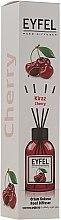 "Parfumuri și produse cosmetice Difuzor Aromatic ""Vișini"" - Eyfel Perfume Reed Diffuser Cherry"