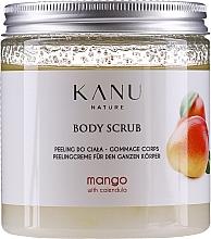 """Parfumuri și produse cosmetice Scrub pentru corp """"Mango"""" - Kanu Nature Mango Body Scrub"""