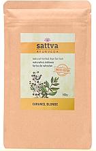 Parfumuri și produse cosmetice Vopsea de păr - Sattva Ayurveda Natural Herbal Hair Dye