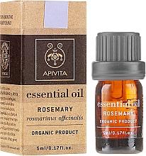 """Parfumuri și produse cosmetice Ulei esențial """"Rosemary"""" - Apivita Aromatherapy Organic Rosemary Oil"""