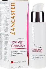 Parfumuri și produse cosmetice Fluid pentru față - Lancaster Total Age Correction Amplified Dark Spot Corrector