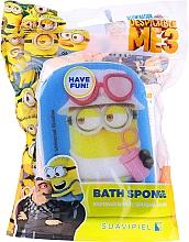"""Parfumuri și produse cosmetice Burete de baie, pentru copii """"Minions"""", Dave, albastră - Suavipiel Minnioins Bath Sponge"""