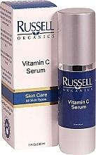 Parfumuri și produse cosmetice Ser cu vitamina C pentru față - Russell Organics Vitamin C Serum