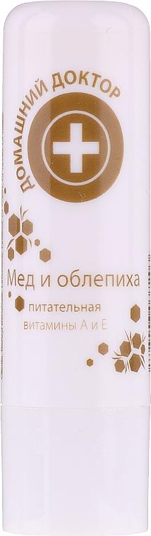 Ruj igienic cu extract de miere și cătină - Medic de familie — Imagine N1