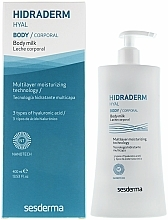 Parfumuri și produse cosmetice Lapte de corp - SesDerma Laboratories Hidraderm Body Milk