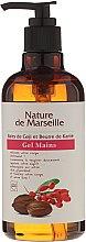 Parfumuri și produse cosmetice Gel de mâini cu miros de boabe de goji și unt de shea - Nature de Marseille Goji&Shea Butter Gel