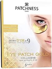 Parfumuri și produse cosmetice Patch-uri anti-îmbătrânire cu extract de aur - Patchness Eye Patch Gold