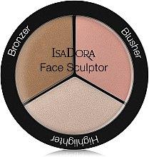 Parfumuri și produse cosmetice Paletă pentru sculptarea feței - IsaDora Face Sculptor