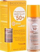 Parfumuri și produse cosmetice Cremă de protecție solară pentru corp - Bioderma Photoderm Nude Touch Golden Color Spf 50+