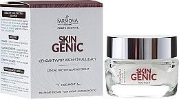 Parfumuri și produse cosmetice Cremă de noapte pentru stimularea regenerării celulare - Farmona Professional Skin Genic