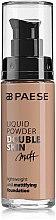 Parfumuri și produse cosmetice Fond de ten - Paese Liquid Powder Double Skin Matt