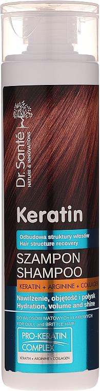 Șampon pentru păr subțire și fragil - Dr. Sante Keratin Shampoo