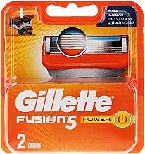 Parfumuri și produse cosmetice Casete de rezervă pentru aparat de ras - Gillette Fusion Power