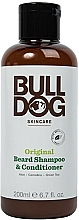 Parfumuri și produse cosmetice Șampon-balsam pentru barbă - Bulldog Skincare Beard Shampoo and Conditioner