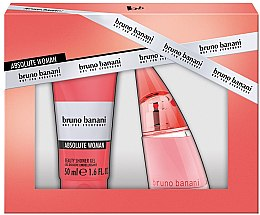 Parfumuri și produse cosmetice Bruno Banani Absolute Woman - Set (edt/20ml + sh/gel/50ml)