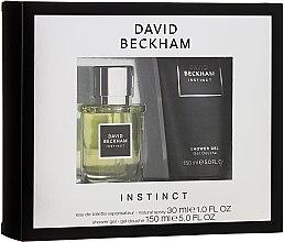 Parfumuri și produse cosmetice David Beckham Instinct - Set (edt/30ml + sh/gel/150ml)