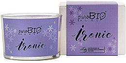 Parfumuri și produse cosmetice Lumânare organică - PuroBio Home Organic Ironic