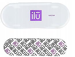 Parfumuri și produse cosmetice Pilă de unghii - Ilu Nail File With Case Mini 240/240