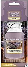 Parfumuri și produse cosmetice Aromatizor auto - Yankee Candle Car Jar Dried Lavender & Oak