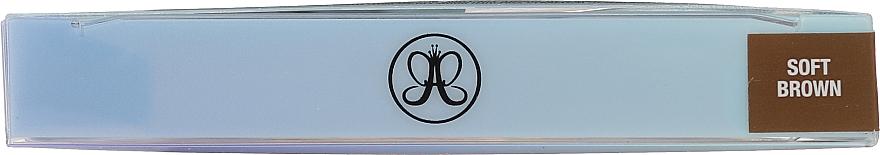 Set - Anastasia Beverly Hills Best Brows Ever Kit Soft Brown (pencil/0.08g + gel/2.5ml + gel/2.2g) — Imagine N3